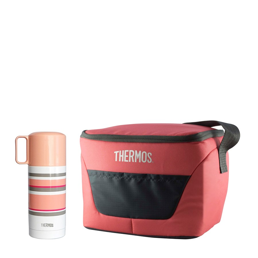 FEJ-353 P-P, CLASSIC 9 Can Cooler Pink